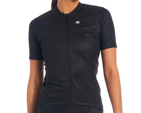 Giordana Women's Fusion Short Sleeve Jersey (Black) (L)