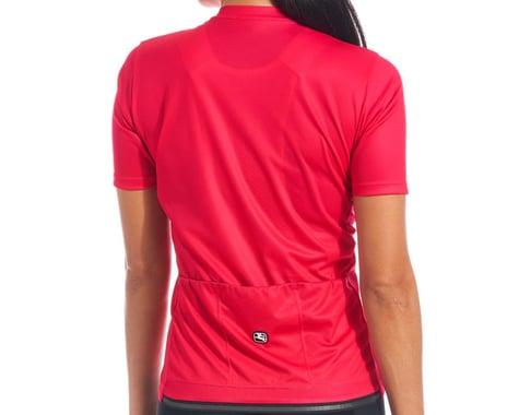 Giordana Women's Fusion Short Sleeve Jersey (Hot Pink) (S)