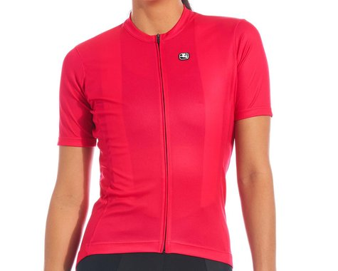 Giordana Women's Fusion Short Sleeve Jersey (Hot Pink) (L)