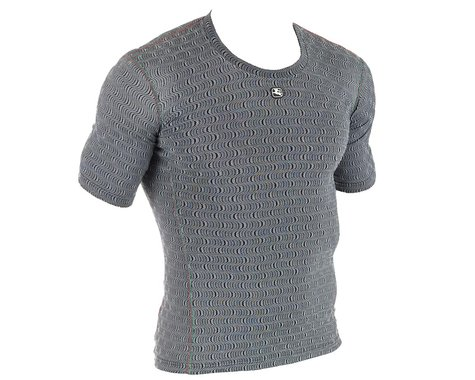 Giordana Ceramic Short Sleeve Base Layer (Grey) (S)