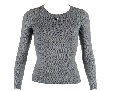 Giordana Women's Ceramic Long Sleeve Base Layer (Grey) (L)