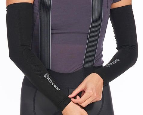 Giordana Knitted Dryarn Arm Warmers (Black) (M/L)