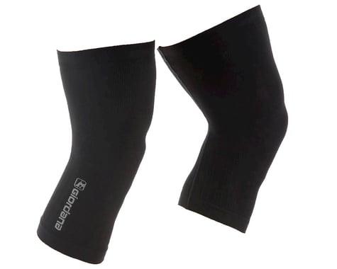 Giordana Knitted Dryarn Knee Warmers (Black) (XS/S)