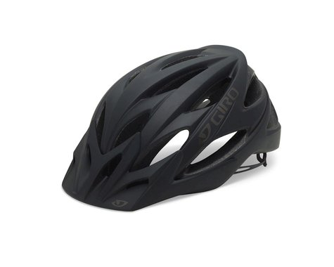 "Giro Xar Mountain Helmet (Matte Black/Gray Bars) (Small 20-21.75"")"