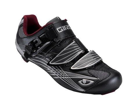 Giro Women's Solara Road Shoes - Closeout (Gunmetal/Berry)