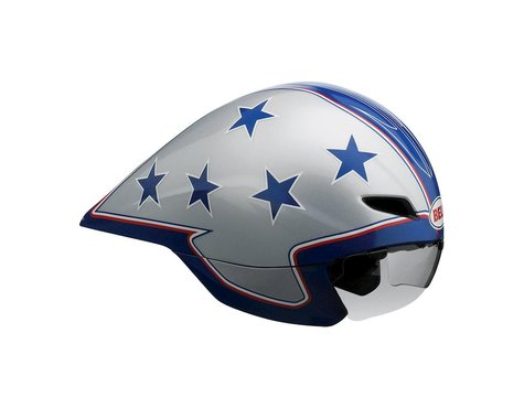 Giro Bell Javelin Time Trial/Triathlon Helmet - Closeout (Silver/Blue)
