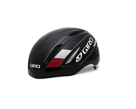 Giro Air Attack Road Helmet - Closeout (Black/Red)
