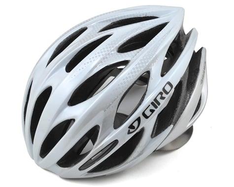 Giro Saros Road Cycling Helmet (White/Silver)