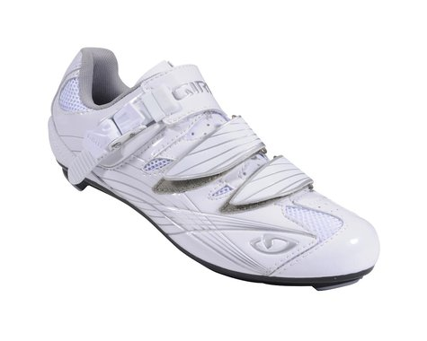Giro Solara Women's Road Shoes (White/Silver)