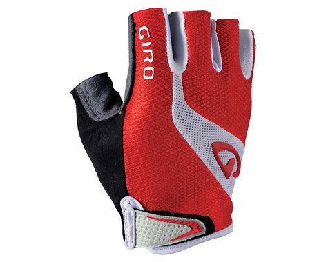 Giro Bravo Short Finger Gloves (Black/Yellow/Gray)