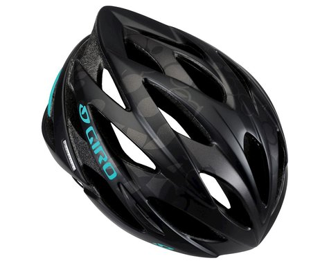 Giro Sonnet Women's Road Helmet - Closeout (Matte Black / Dynasty Green)
