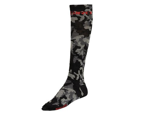 Giro Camo Hightower Socks - Closeout (Black Camo)