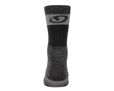 Giro Merino Seasonal Wool Socks (Grey/Black)
