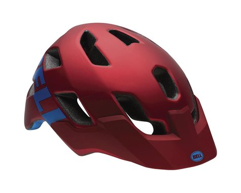 Giro Bell Stoker Mountain Bike Helmet - Discontinued Color (Matte Red Emblem)