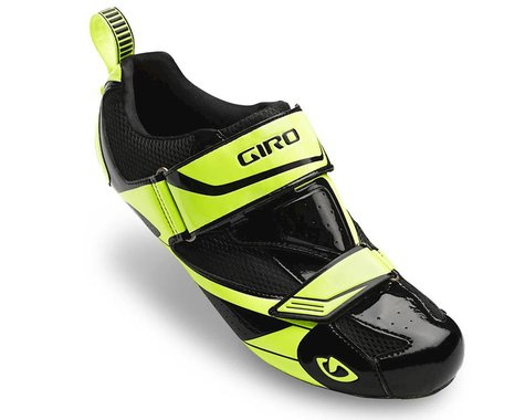 Giro Mele Tri Bike Shoes (Black/Yellow)
