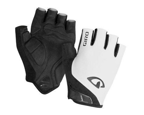 Giro Jag Short Finger Gloves (White) (M)