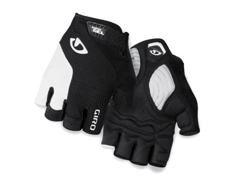 Giro Strade Dure Supergel Short Finger Bike Gloves (White/Black) (XL)