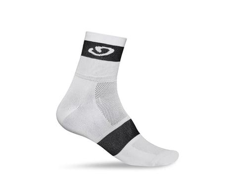 Giro Comp Racer Socks (White/Black)