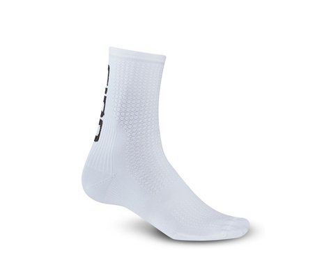 Giro HRc Team Socks (White/Black) (L)