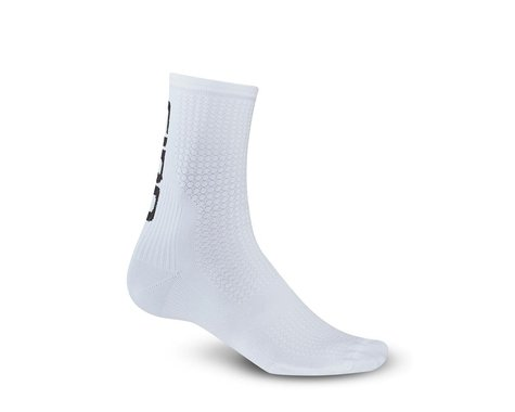 Giro HRc Team Socks (White/Black) (XL)