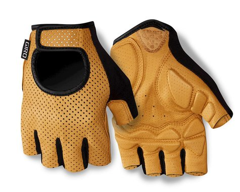 Giro LX Short Finger Bike Gloves (2016) (Tan) (2XL)