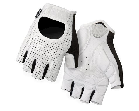 Giro LX Short Finger Bike Gloves (2016) (White) (L)