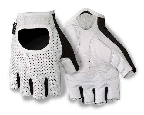 Giro LX Short Finger Bike Gloves (White) (2016) (2XL)