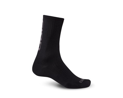 Giro HRc Team Socks (Black/Dark Shadow) (M)