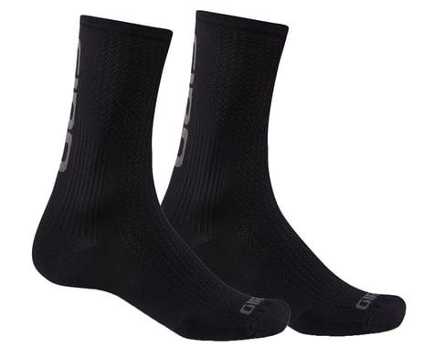 Giro HRc Team Socks (Black/Dark Shadow) (XL)