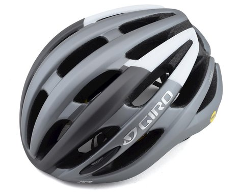Giro Foray MIPS Road Helmet (Matte Titanium Grey/White)
