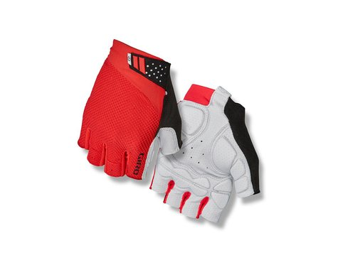 Giro Monaco II Gel Bike Gloves (Bright Red) (S)