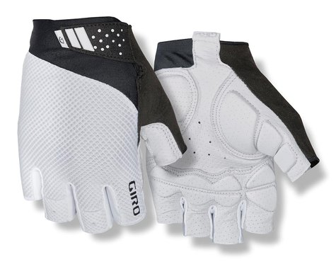 Giro Monaco II Gel Bike Gloves (White) (L)