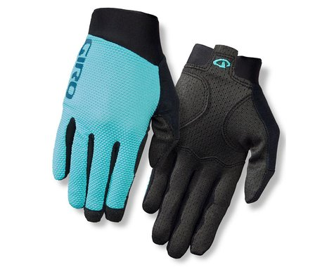 Giro Riv'ette Womens Long Finger Gloves (Turq/BluTeal)