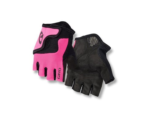 Giro Bravo Jr Gloves (Pink/Black) (XS)