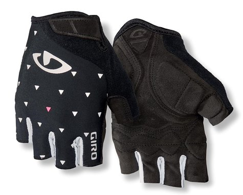 Giro Jag'ette Women's Gloves (Black Sharktooth) (S)