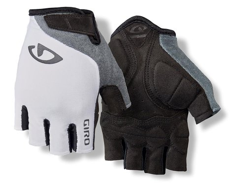 Giro Jag'ette Women's Gloves (White/Titanium) (M)