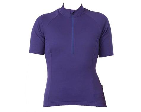 Giro Women's Chrono Sport 1/2 Zip Jersey (UltraViolet)
