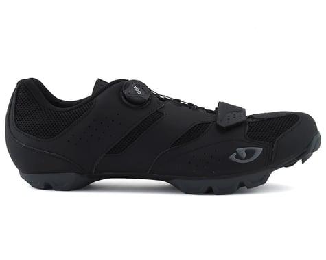Giro Cylinder Mountain Bike Shoe (Black) (42)