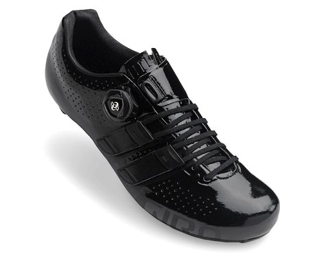 Giro Factor Techlace Road Shoes (Black) (45)