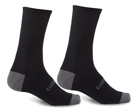 Giro HRc+ Merino Wool Socks (Black/Charcoal) (M)