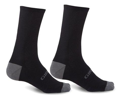 Giro HRc+ Merino Wool Socks (Black/Charcoal) (XL)