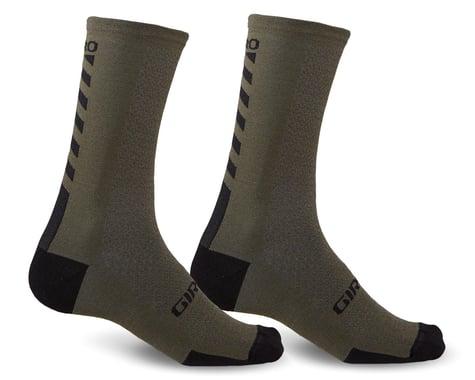 Giro HRc+ Merino Wool Socks (Mil Spec/Black) (M)