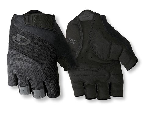 Giro Bravo Gel Gloves (Black/Grey) (L)