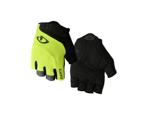 Giro Bravo Gel Gloves (Yellow/Black) (S)