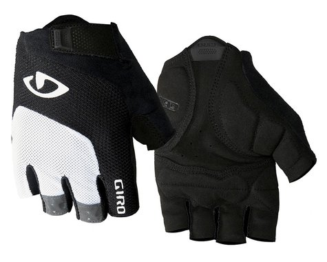 Giro Bravo Gel Gloves (White/Black) (L)
