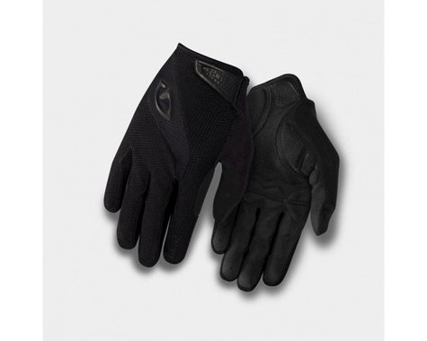 Giro Bravo Gel Long Finger Gloves (Black) (XL)