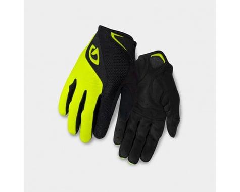 Giro Bravo Gel Long Finger Gloves (Yellow/Black) (XL)