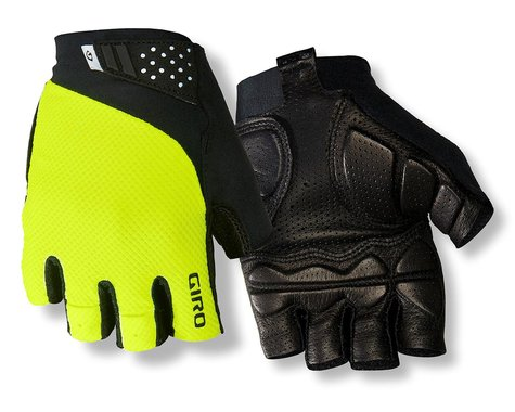 Giro Monaco II Gel Bike Gloves (Hi Vis Yellow) (L)