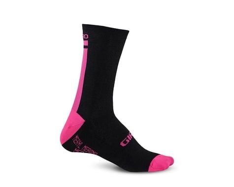Giro HRc+ Merino Wool Socks (Bright Pink)