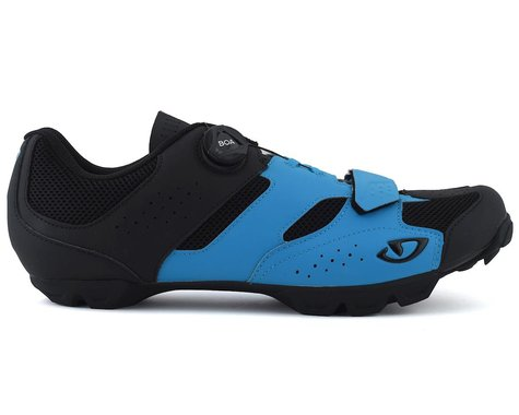 Giro Cylinder Mountain Bike Shoe (Blue/Black) (44)
